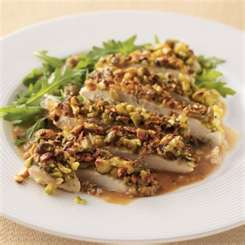 Pistachio Crusted Tilapia with Honey Mustard Sauce (can be ...